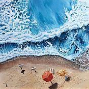 Картины ручной работы. Ярмарка Мастеров - ручная работа Картины: Быть частью океана. Handmade.