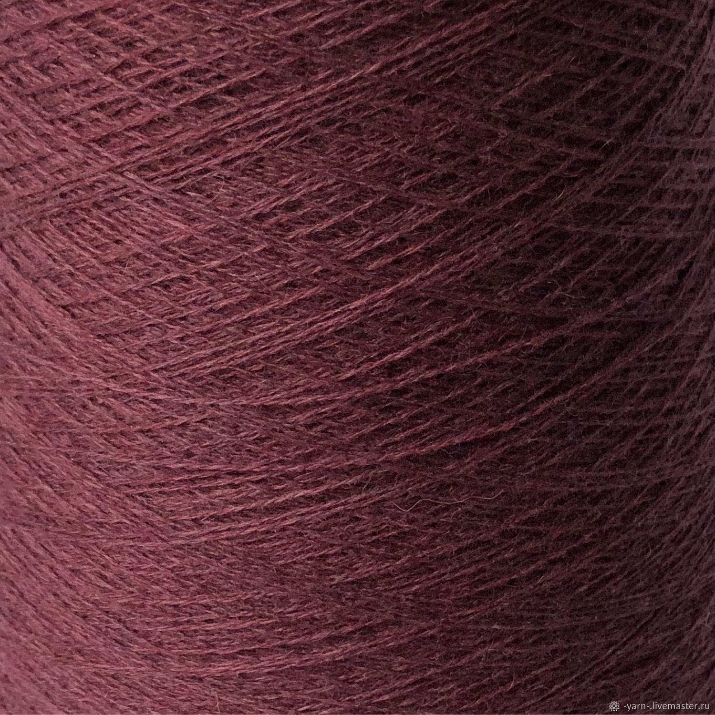 Пряжа Кашемир 2/28 пыльный бордово-фиолетовый – купить на Ярмарке Мастеров – MPTNMRU   Пряжа, Санкт-Петербург