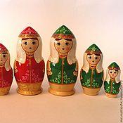 Русский стиль handmade. Livemaster - original item Matryoshka 3 local