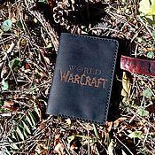 """Обложки ручной работы. Ярмарка Мастеров - ручная работа Обложка для паспорта DCC-01 """"World of Warcraft"""". Handmade."""