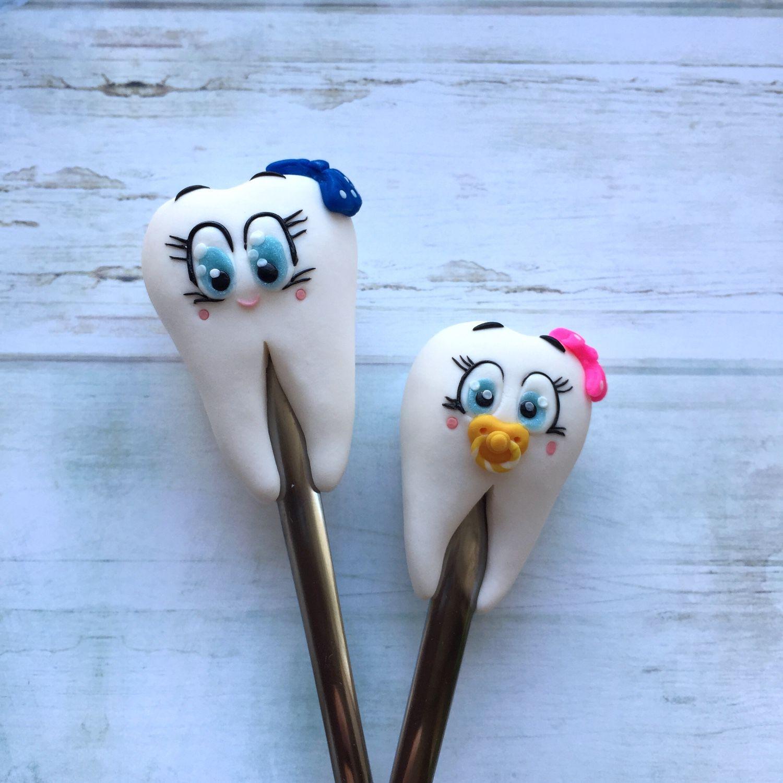 Как сделать зубы из полимерной глины