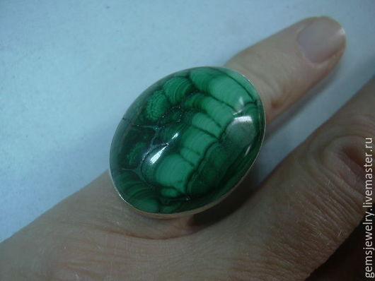 Кольца ручной работы. Ярмарка Мастеров - ручная работа. Купить Элегантное кольцо МАЛАХИТ,серебро 925.. Handmade. Зеленый, малахитовый