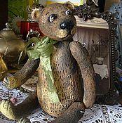 Куклы и игрушки ручной работы. Ярмарка Мастеров - ручная работа Мишка из детства. Handmade.