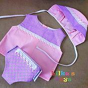 Одежда для кукол ручной работы. Ярмарка Мастеров - ручная работа Комплект одежды для куклы-голышки. Handmade.