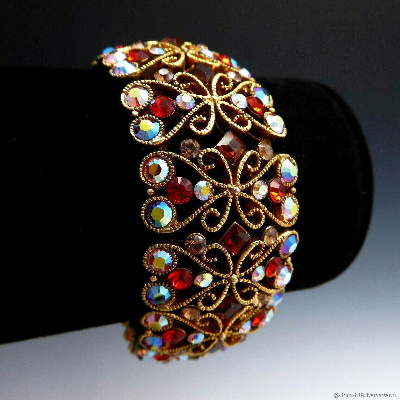 Винтаж: Винтажный браслет от бренда Joan Rivers,90 е, США, Браслеты винтажные, Благовещенск,  Фото №1