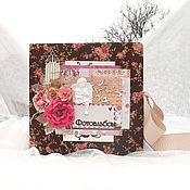 Канцелярские товары handmade. Livemaster - original item Family wedding photo album. Handmade.