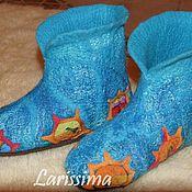 Обувь ручной работы handmade. Livemaster - original item Shoes home women`s. Handmade.