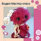 Knitting patterns handmade. Livemaster - original item Video Master class