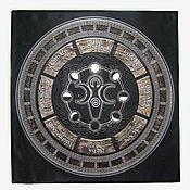 Фен-шуй и эзотерика handmade. Livemaster - original item WHEEL of the YEAR, altar cloth made of thick satin fabric. Handmade.