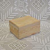 Материалы для творчества ручной работы. Ярмарка Мастеров - ручная работа Шкатулка деревянная. Handmade.