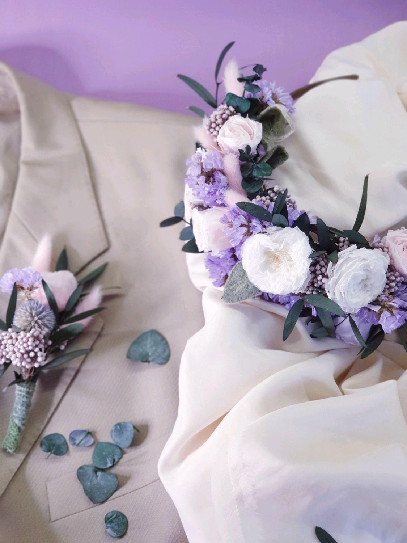 Свадебный венок, ободок для фотосессии, Свадебные аксессуары, Москва,  Фото №1