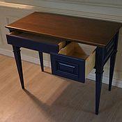 Для дома и интерьера handmade. Livemaster - original item 3581 Desk wood. Width 100mm, Height 750mm, Depth 500m. Handmade.