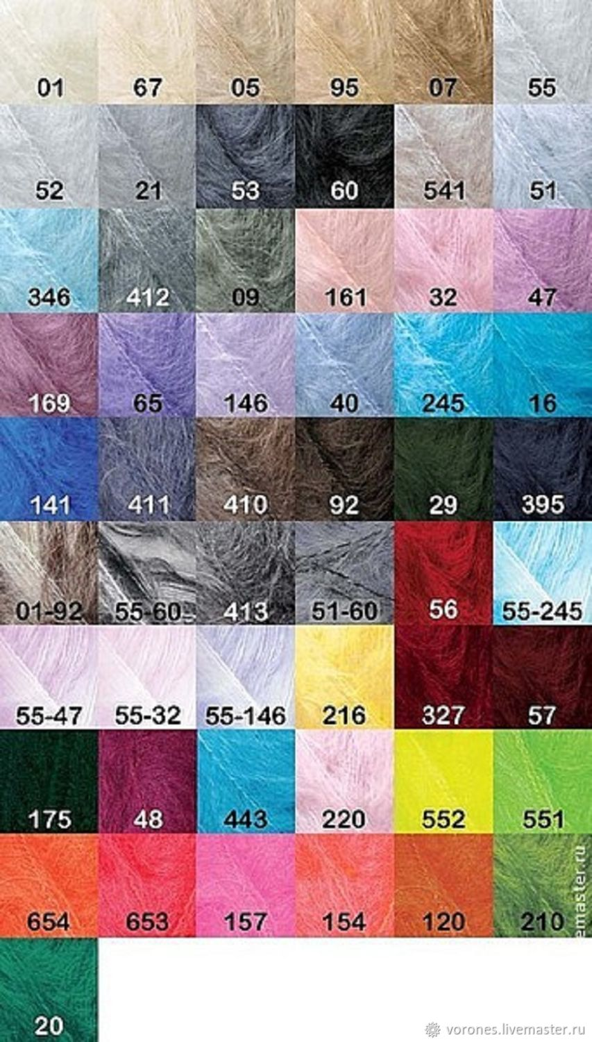 d23ccdf5ef4 Knit & Crochet handmade. Livemaster - handmade. Buy Mohair classic alizé.  remains sweet ...