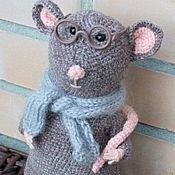 Мягкие игрушки ручной работы. Ярмарка Мастеров - ручная работа Крыс. Handmade.
