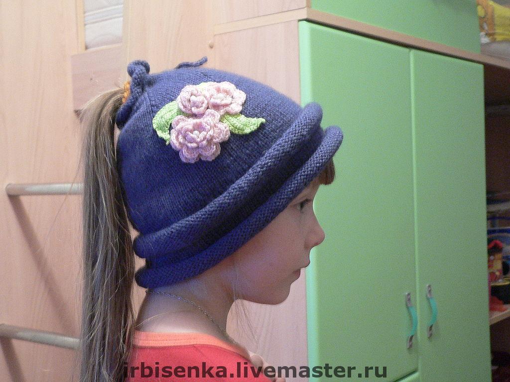 мужская шапка чулок схема вязания