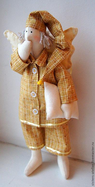 Куклы Тильды ручной работы. Ярмарка Мастеров - ручная работа. Купить текстильная кукла ангел-снов. Handmade. Текстильная кукла