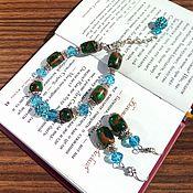 Украшения handmade. Livemaster - original item Jewelry sets: Set of stones