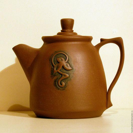 """Чайники, кофейники ручной работы. Ярмарка Мастеров - ручная работа. Купить чайник """"модерн"""". Handmade. Коричневый, заварочный чайник, Керамика"""