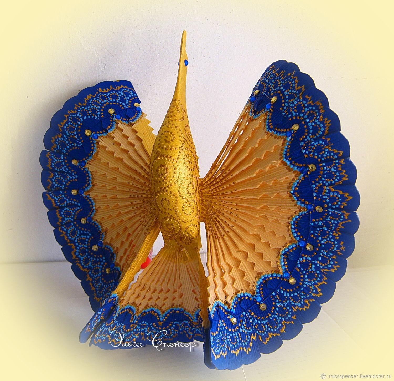 Подарки на свадьбу ручной работы. Ярмарка Мастеров - ручная работа. Купить Синяя Птица счастья для молодой семьи. Handmade.