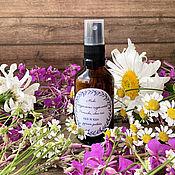 Косметика ручной работы handmade. Livemaster - original item Mix of natural hydrolates Ivan-tea and chamomile. Handmade.