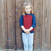 Работы для детей, ручной работы. Ярмарка Мастеров - ручная работа Детский свитер Паук. Handmade.