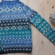 Sweaters handmade. Livemaster - original item Sweater female knitted Arctic. Handmade.