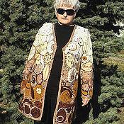 """Одежда ручной работы. Ярмарка Мастеров - ручная работа Кардиган  ФРИ-ФОРМ   """" Барокко"""". Handmade."""