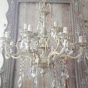 Для дома и интерьера handmade. Livemaster - original item Bronze chandelier