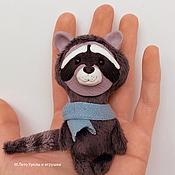 Куклы и игрушки ручной работы. Ярмарка Мастеров - ручная работа Енот. Handmade.