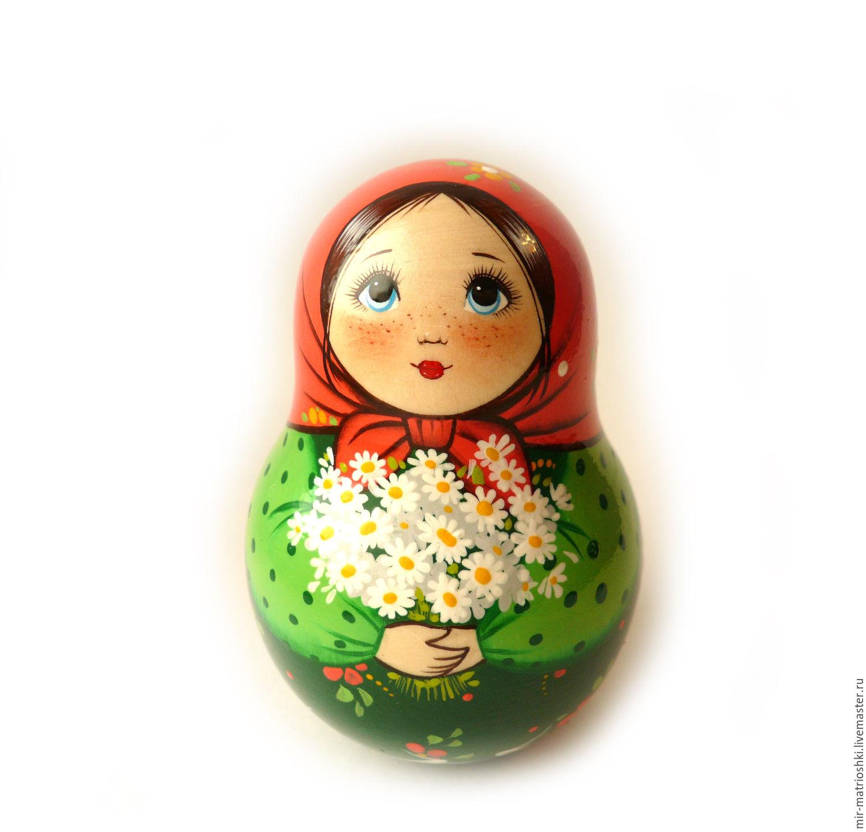 Tumbler 'she Matreshkina' 1 (with clang), Dolls1, Sarov,  Фото №1