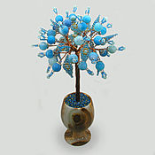 Цветы и флористика handmade. Livemaster - original item Product made of agate