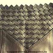 Одежда ручной работы. Ярмарка Мастеров - ручная работа Эксклюзивная кожаная юбка. Handmade.