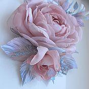 Украшения handmade. Livemaster - original item FABRIC FLOWERS.