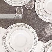 Для дома и интерьера handmade. Livemaster - original item Linen serving napkins with embroidery. Handmade.