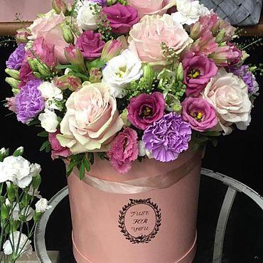 Свадебный салон ручной работы. Ярмарка Мастеров - ручная работа Композиция из живых цветов. Handmade.