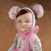 Куклы и игрушки ручной работы. Ярмарка Мастеров - ручная работа тедди-долл Мышка. Handmade.