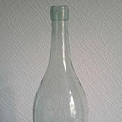 Старинная стеклянная бутылка, СССР