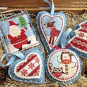 Подарки к праздникам handmade. Livemaster - original item Set (5pcs.) Christmas decorations