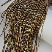 Канитель ручной работы. Ярмарка Мастеров - ручная работа Канитель: Трунцал Античное Золото. Handmade.