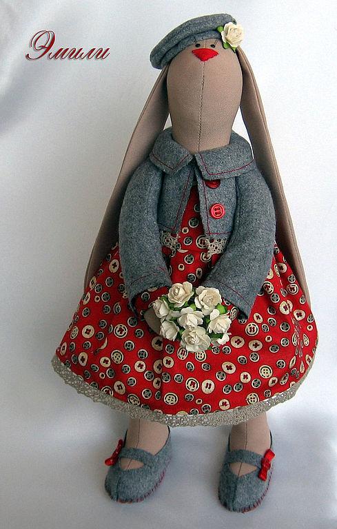 Платье для тильды зайца своими руками