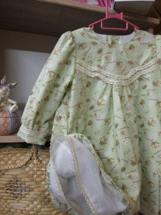 """Одежда для девочек, ручной работы. Ярмарка Мастеров - ручная работа. Купить Платье """" Катюша"""". Handmade. Салатовый, нарядное платье"""