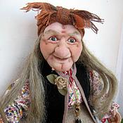 Куклы и игрушки ручной работы. Ярмарка Мастеров - ручная работа Кукла Баба Яга 5. Handmade.