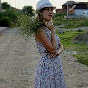 """Одежда ручной работы. Ярмарка Мастеров - ручная работа Платье """" Незабудка"""". Handmade."""