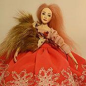 Куклы и игрушки ручной работы. Ярмарка Мастеров - ручная работа Авторская будуарная кукла Лиза. Handmade.