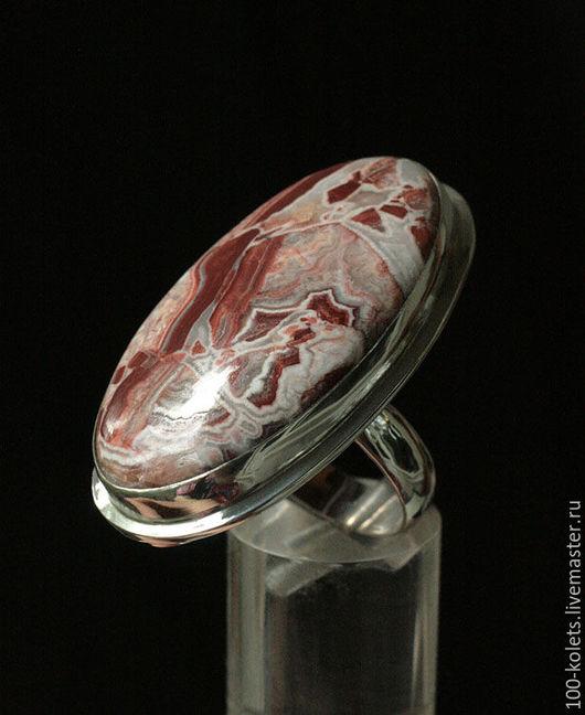 Кольца ручной работы. Ярмарка Мастеров - ручная работа. Купить Кольцо с яшмой Розетта. Handmade. Комбинированный, натуральные камни