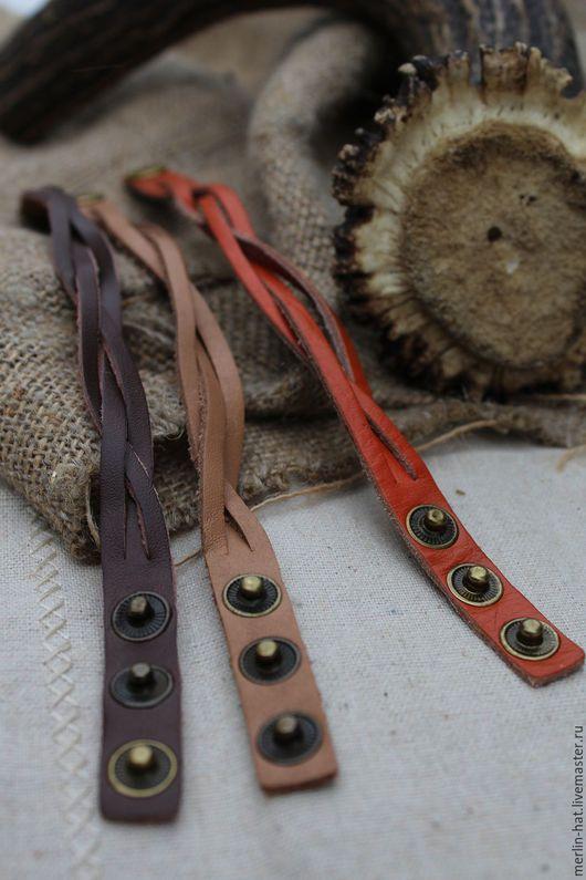 Браслеты ручной работы. Ярмарка Мастеров - ручная работа. Купить Кожаные плетеные браслетики. Handmade. Браслет, музыка, плетеный браслет