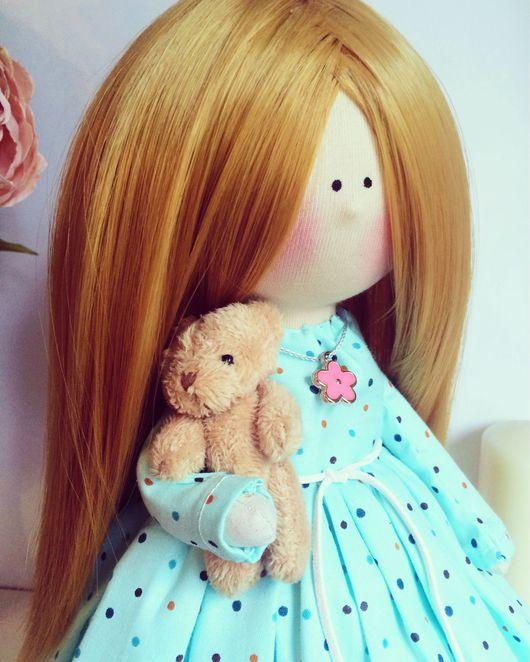 Человечки ручной работы. Ярмарка Мастеров - ручная работа. Купить Кукла рыжее Солнышко.. Handmade. Кукла ручной работы