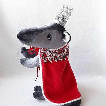 Куклы и игрушки ручной работы. Ярмарка Мастеров - ручная работа Тедди крыса. Handmade.