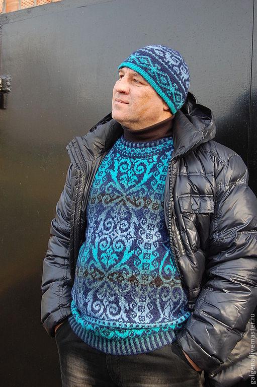 Жаккардовый пуловер доставка