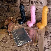 Мыло ручной работы. Ярмарка Мастеров - ручная работа Мыло в форме мужского члена на присоске 18+ M. Handmade.